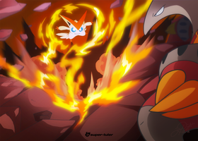 Victini VS Heatmor