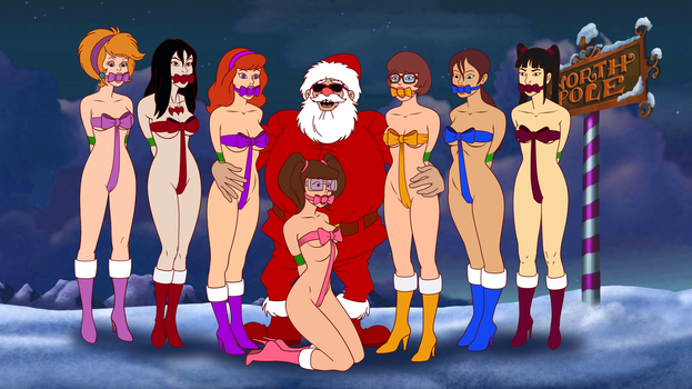Scooby-Doo GiftGirls from Bad Santa GP by VictorZulu