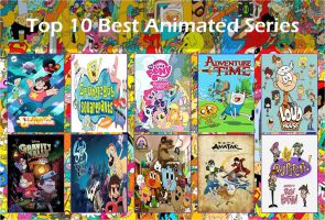 Top 10 Best Animated Series by Shevanda04