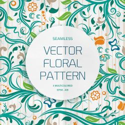 Seamless Floral Pattern by Design-Maker