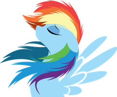 Rainbow Dash by Rariedash