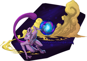 Mewtwo by tiamat