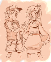 Pines Twins by sanitrance