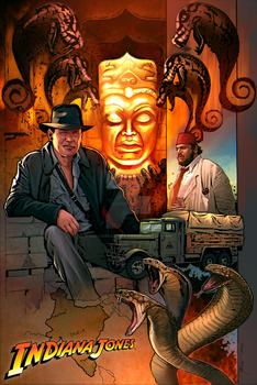 Indiana Jones by sullivanillustration