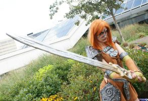 Aela the Huntress 2 by Haganegirl