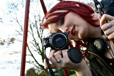 Red headed Photographer by shaddam89