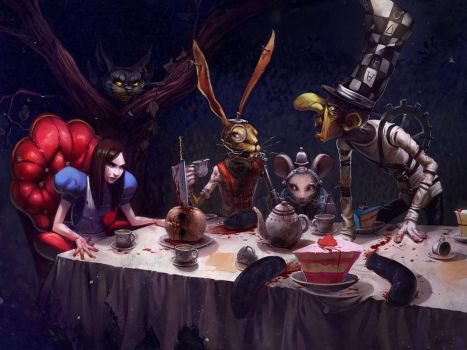 A Mad Tea-Party by Alicechan