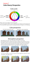 Lesson 7 - Color Perspective by artofpros