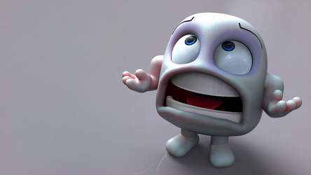 Zbrush Doodle Day 972 - Why by UnexpectedToy