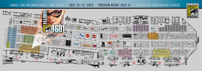 SDCC J. Scott Campbell MAP to 4601 by J-Scott-Campbell