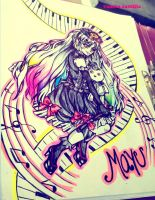 vocaloid mayu by queencastilla