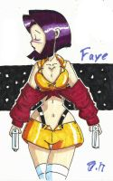 Faye Valentine by Escafa