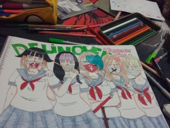 Delinquents/ Yandere Simulator by stefanyba39