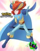 Pokemon - keldeo's Human Form