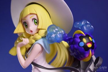 Lillie and Cosmog - Pokemon Sun and Moon by dmy-gfx