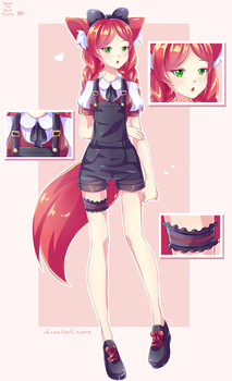 Sweet girl [adoptable] - CLOSED by Neill-Ayane