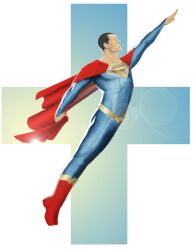 Superman Redesigned by Bonzulac