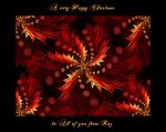 Red Holly Yellow Holly by Rozrr