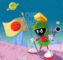 Marvin the Martian by Chadfuller