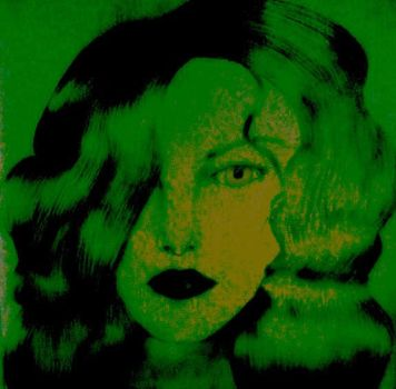 Girl in Shades of Green by museismymuse
