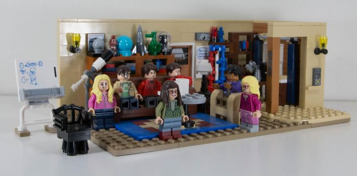 Lego Big Bang Theory by Ankh-Infinitus