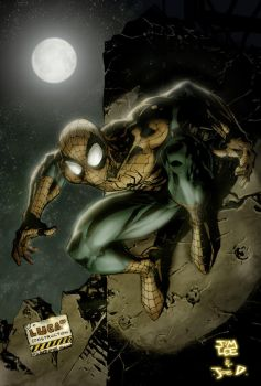 Jim Lee Spidey by JoeMDavis