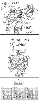 Dragon age - The pit of shame by Kelgrid
