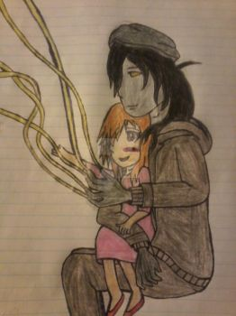 Papa Puppeteer And My OC by PegasisterWhoovian