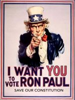 I Want You, To Vote Ron Paul by Ron-Paul-4-President