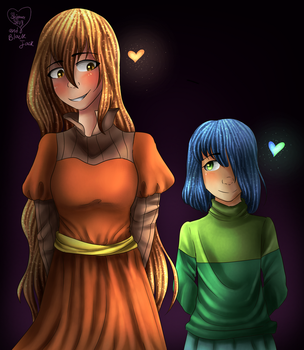 Sisters [Collab] by Shimmer-Shy