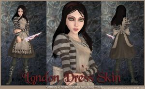 A:MR Skin - London Dress by EvanescentAngel666