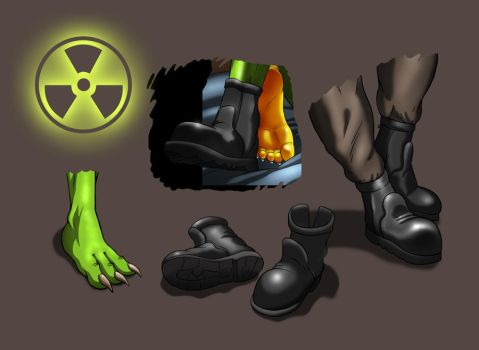 CHOTA Boot Collection by dracenmarx