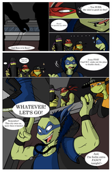 TMNT SP AU: The New Guard Dog Pg. 1 by JigglyWigglies