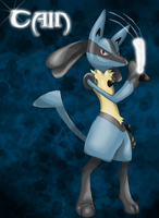 Cain, the Lucario by TheStormUnleashed