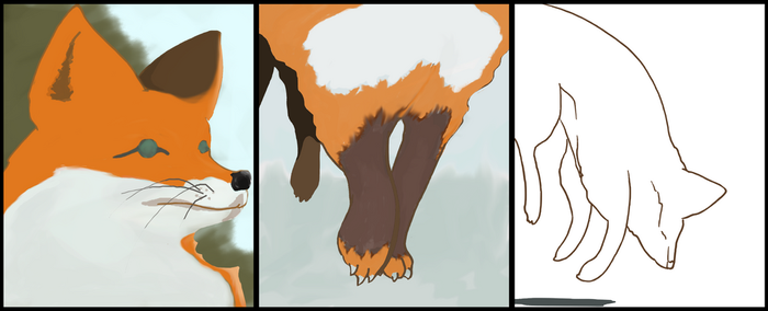 3 panel animal WIP 2.1 by WillDS85