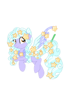 .:CLOSED:. Rare Star Themed HoloCoffee Pony OTA by Angel-Coffee