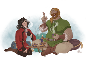A Nice Cup of Tea by GreenOverGreen