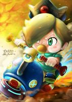 Baby Rosalina [My Charater on Mario Kart 8 Online] by Fineoart