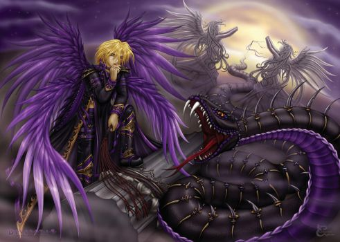 The Black Serpent by caleyndar