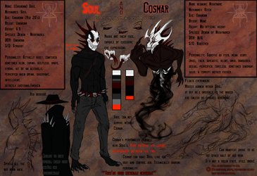 Soul and Cosmar Ref 2017 by MutantParasiteX