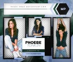 PACK PNG 475|PHOEBE TONKIN by MAGIC-PNGS