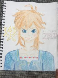 Breath of the Wild Link by ShadowStar2004