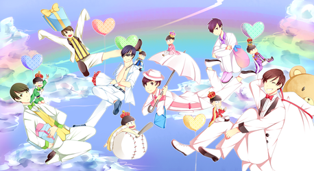 Osomatsu-san White day by Hitagii-chan