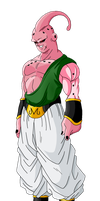 Super Buu Tien and Yamcha Absorbed by D20Watt