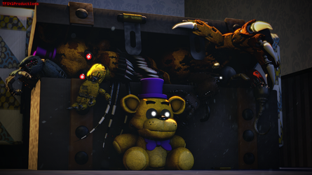 Model Showcase: Toy Story (FNAF4 Box) by TF541Productions