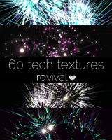 60 HQ Tech Textures by revival-graphics
