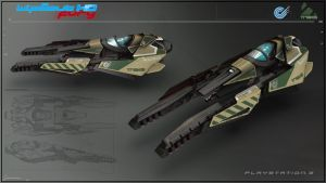 WipEout HD Fury - Triakis by Etch06