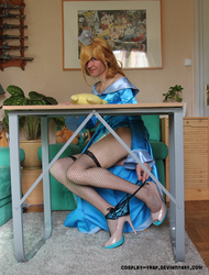 Rosalina trap - Want my panties? by Cosplay-Trap