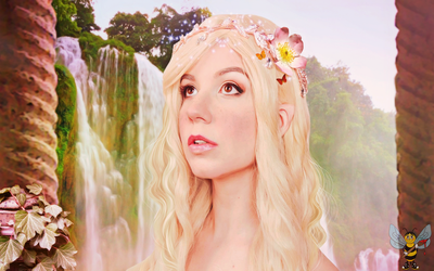 Elven Muse (Fae Dcay) by LittleBee8705