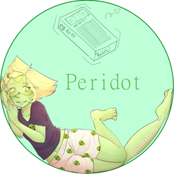 Peridot [Steven Universe] by Andrstante